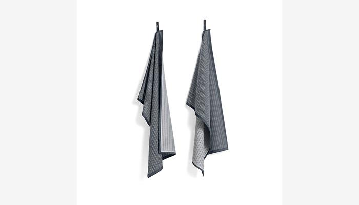 c02beef8 Viskestykker - Køkken & bad - Webshop Tea Towel Grid, green, sæt m ...